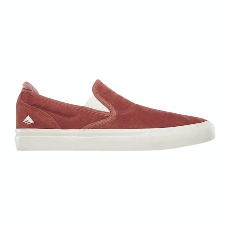Emerica Wino G6 Slip-On Skate Shoe - Brick