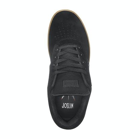 etnies Joslin Pro Skate Shoe - Black/Black/Gum