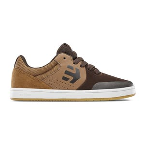 etnies Marana Kids Skate Shoe - Brown/Tan