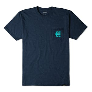etnies Icon Pocket T-Shirt - Navy Heather
