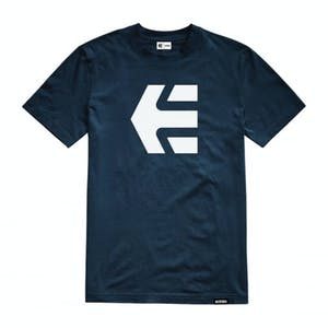 etnies Icon Youth T-Shirt - Navy