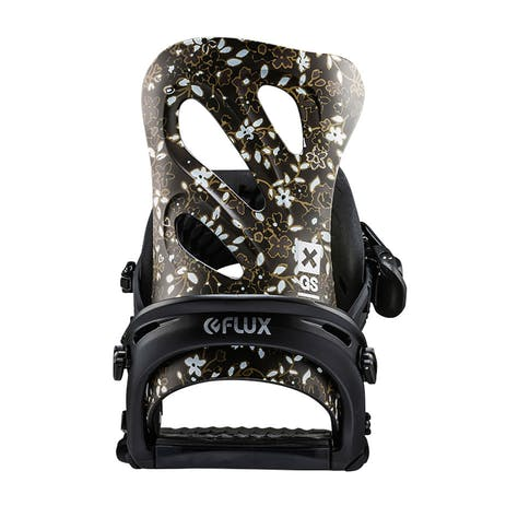 Flux GS Women's Snowboard Bindings 2018 - Black