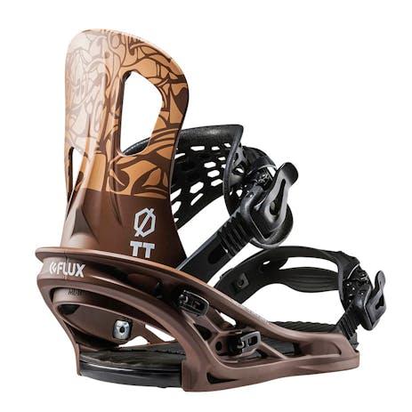 Flux TT Snowboard Bindings 2018 - Choco