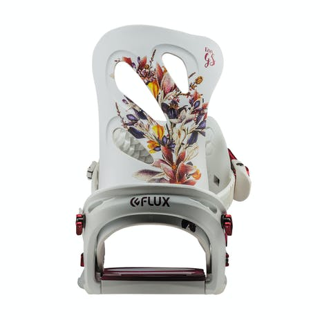 Flux GS Women's Snowboard Bindings 2019 - White
