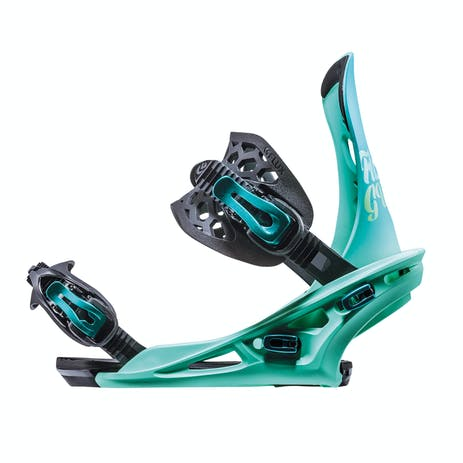 Flux GU Women's Snowboard Bindings 2019 - Blue
