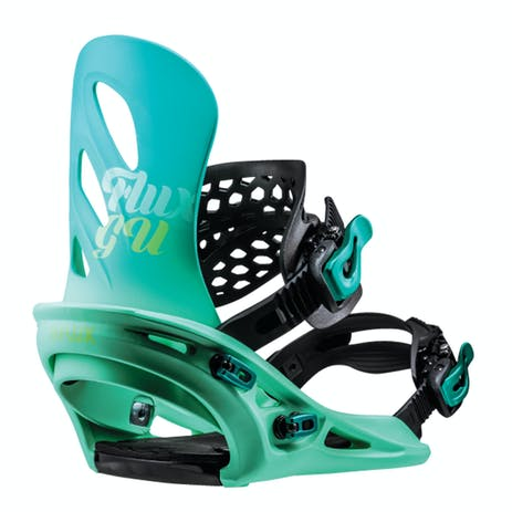 Flux GU Women's Snowboard Bindings 2019 - Blue