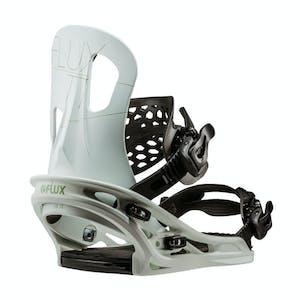 Flux TT Snowboard Bindings 2019 - White