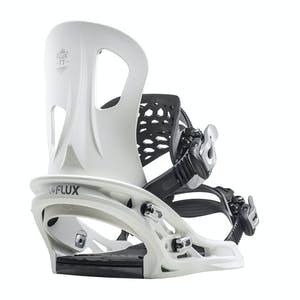 Flux TT Snowboard Bindings 2020 - White