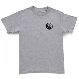 Fourstar Kung Fu T-Shirt - Heather Grey