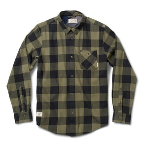 Fourstar Buffalo Flannel Shirt - Olive