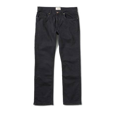 Fourstar Classic 5 Pocket Jean - Black