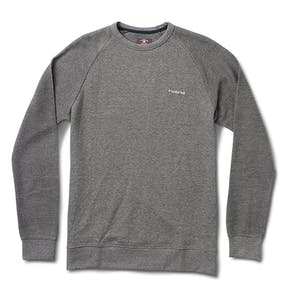 Fourstar Reverse Raglan Crew - Heather Grey