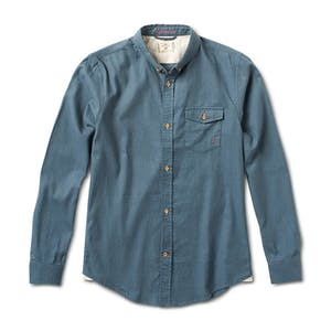 Fourstar Twill Long Sleeve Shirt - Washed Indigo
