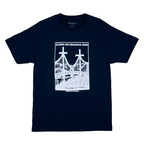 GX1000 Church of No Return T-Shirt - Navy