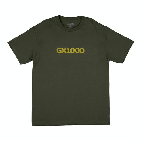 GX1000 Dithered Logo T-Shirt - Green