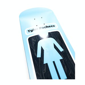"Girl Pacheco 93 Til 8.38"" Skateboard Deck - Baby Blue"