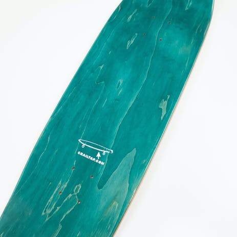 """Girl Crailtap Splitter 9.25"""" Skateboard Deck - Orange/Natural"""