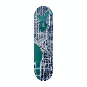 Girl Pin Point One-Off Skateboard Deck - Gass