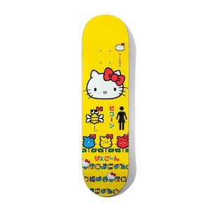 "Girl x Hello Kitty Mike Mo 8.25"" Skateboard Deck"