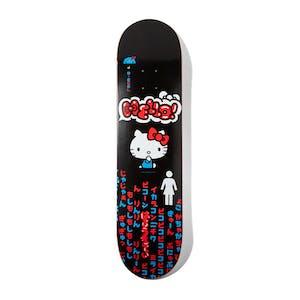"Girl x Hello Kitty Biebel 8.125"" Skateboard Deck"
