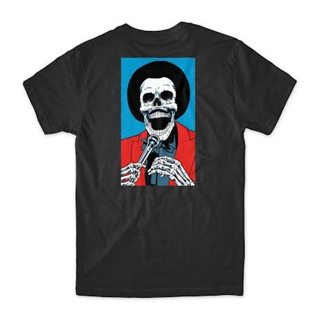 Girl Skull of Fame T-Shirt - Black