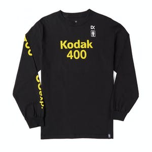 Girl x Kodak Long-Sleeve T-Shirt - Black