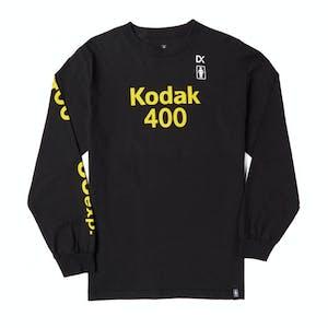 Girl x Kodak Long Sleeve T-Shirt - Black
