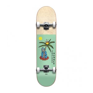 "Globe Endless Bummer 7.38"" Complete Skateboard - Seafoam/Natural"