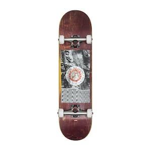 "Globe G2 In Flames 8.0"" Complete Skateboard - Holo / Quake"