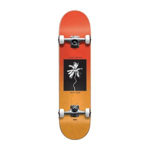 "Globe Palm Off Mini 7.0"" Complete Skateboard - Red Fade Dye"