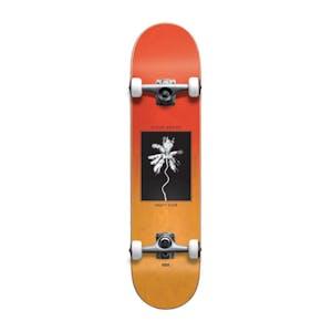 "Globe Palm Off Mini 7.0"" Complete Skateboard - Red Fade Dye"