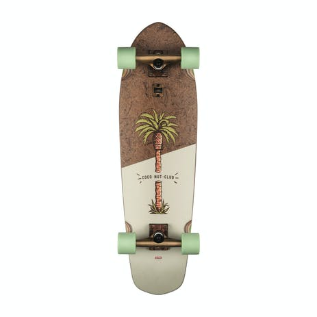 "Globe Big Blazer 32"" Cruiser Skateboard - Coconut Palm"
