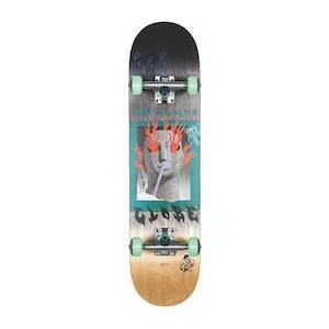 """Globe G1 Firemaker 7.75"""" Complete Skateboard - Black/Natural"""