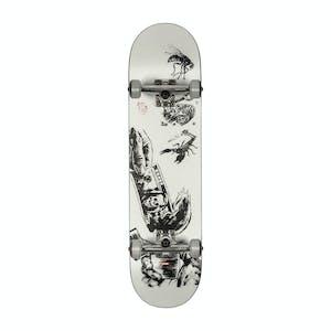 """Globe G1 Hard Luck 8.0"""" Complete Skateboard - Black/White"""