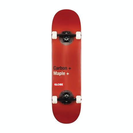 "Globe G3 Bar 8.25"" Premium Complete Skateboard - Impact/Red"
