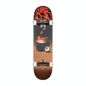 "Globe On The Brink 8.25"" Complete Skateboard - Dumpster Fire"