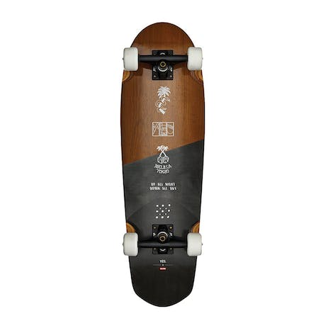 "Globe x YES. Pusher 29"" Cruiser Skateboard"