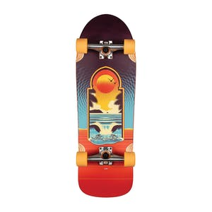 "Globe Aperture 31"" Cruiser Skateboard - Cult of Freedom/Portal"