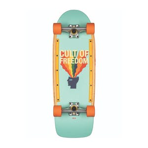 "Globe Burner 31"" Cruiser Skateboard - Cult of Freedom/Explode"