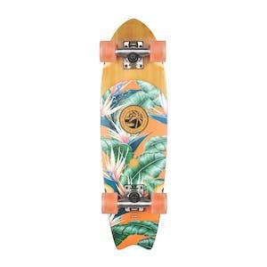 """Globe Sagano 26"""" Cruiser Skateboard - Bamboo/Black Birds"""