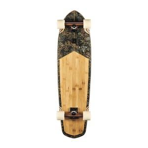 "Globe Blazer XL 36"" Cruiser Skateboard - Bamboo/Floral Couch"