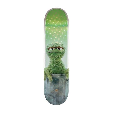 """Globe x Sesame Street G2 8.25"""" Skateboard Deck - Oscar the Grouch"""