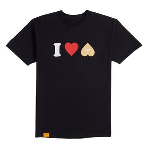 Enjoi I Heart Hearts T-Shirt - Black