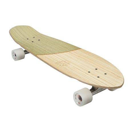 """Globe Big Blazer 32"""" Cruiser Skateboard - Bamboo/Olive"""