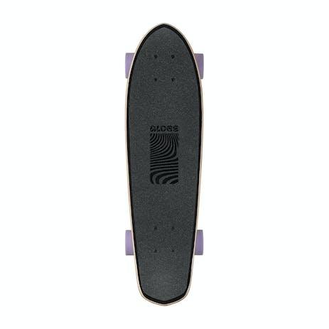 "Globe Blazer 26"" Cruiser Skateboard - Black/Purple"