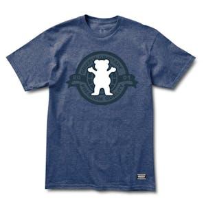 Grizzly Hallmark T-Shirt - Denim Heather