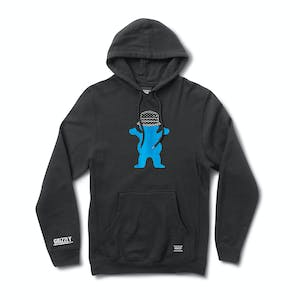 Grizzly Boo Johnson Pro Hoodie — Black