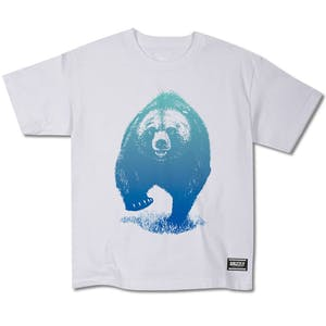 Grizzly Skies Youth T-Shirt - White