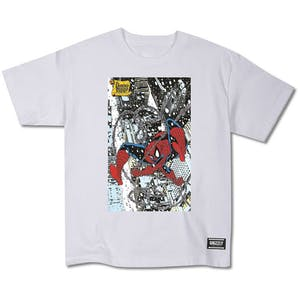 Grizzly x Marvel Spider-Man Cover Youth T-Shirt - White