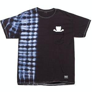 Grizzly Tear Tie-Dye Pocket T-Shirt — Black